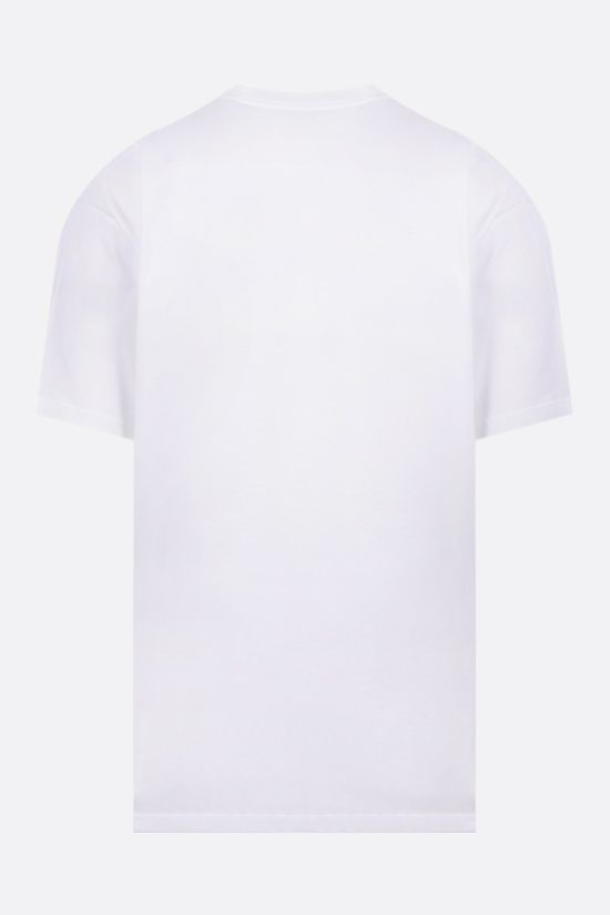 CARHARTT WIP: logo print cotton t-shirt Color White_2