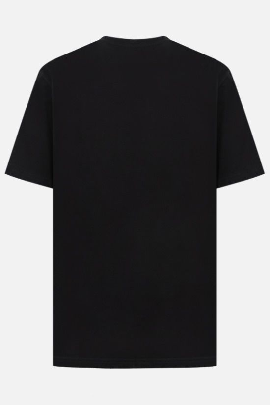 CARHARTT WIP: logo print cotton t-shirt Color Black_2