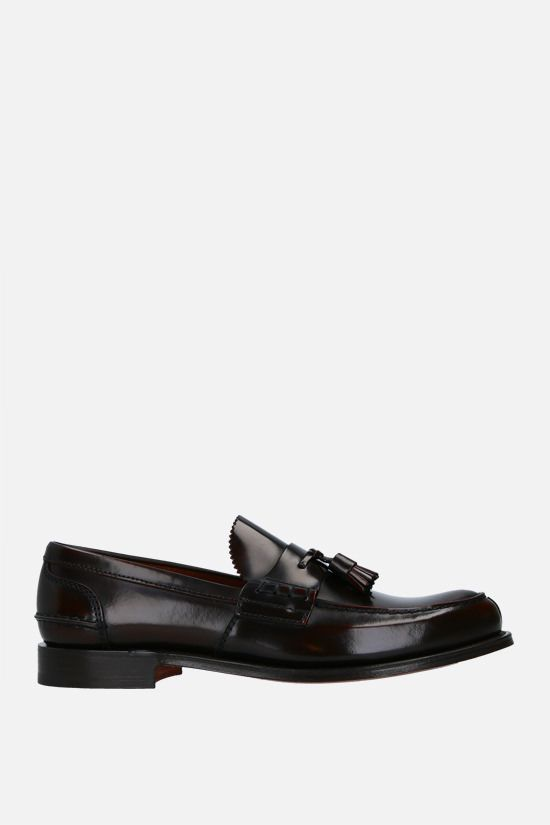 CHURCH'S: Tiverton loafers in Bookbinder leather Color Brown_1