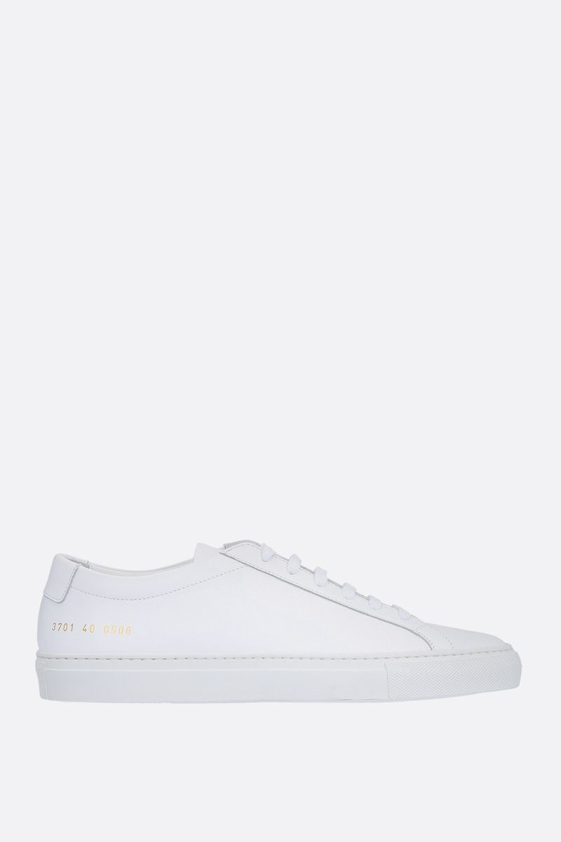 COMMON PROJECTS: Original Achilles smooth leather sneakers Color White_1