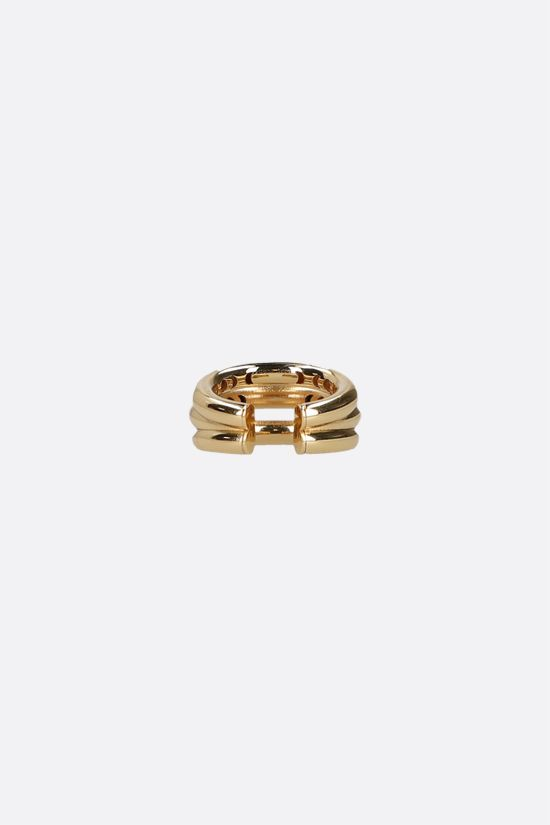 FEDERICA TOSI: Ale small bronze ring Color Gold_2