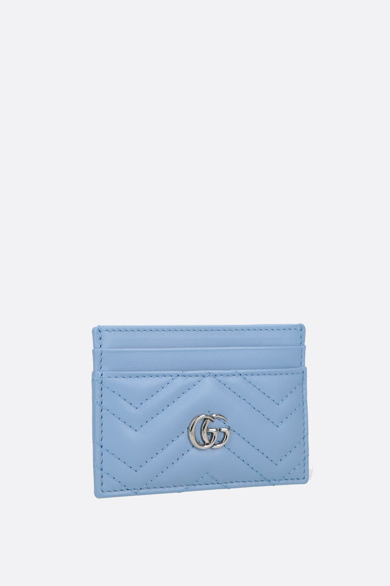 GUCCI: GG Marmont quilted leather card case_2