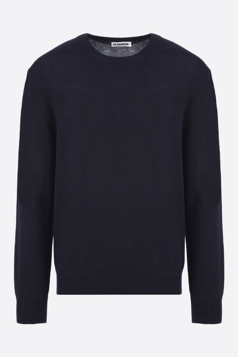 JIL SANDER: wool pullover Color Blue_1