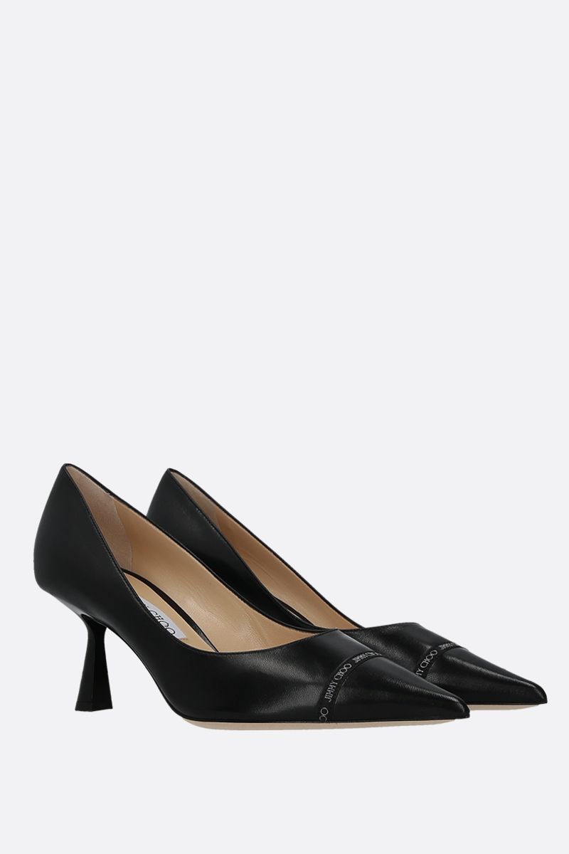JIMMY CHOO: Renè soft nappa pumps Color Black_2