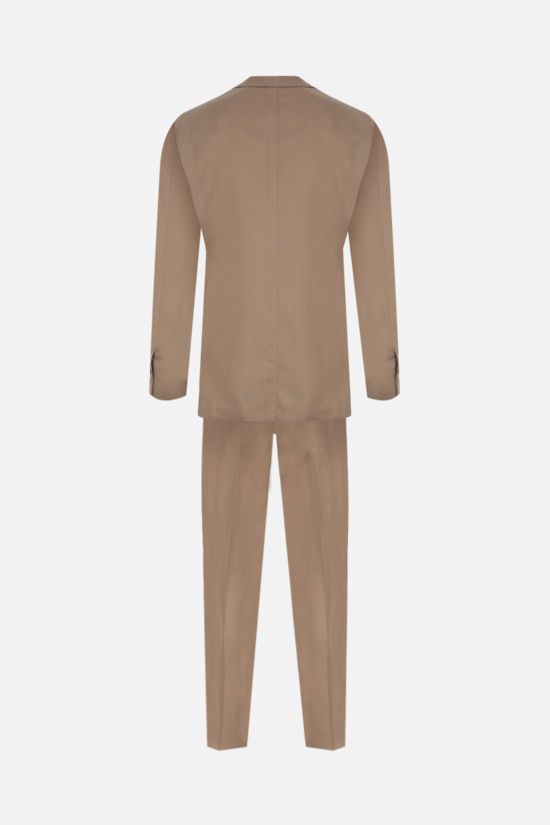 LARDINI: lightweight wool two-pieces suit Color Neutral_2