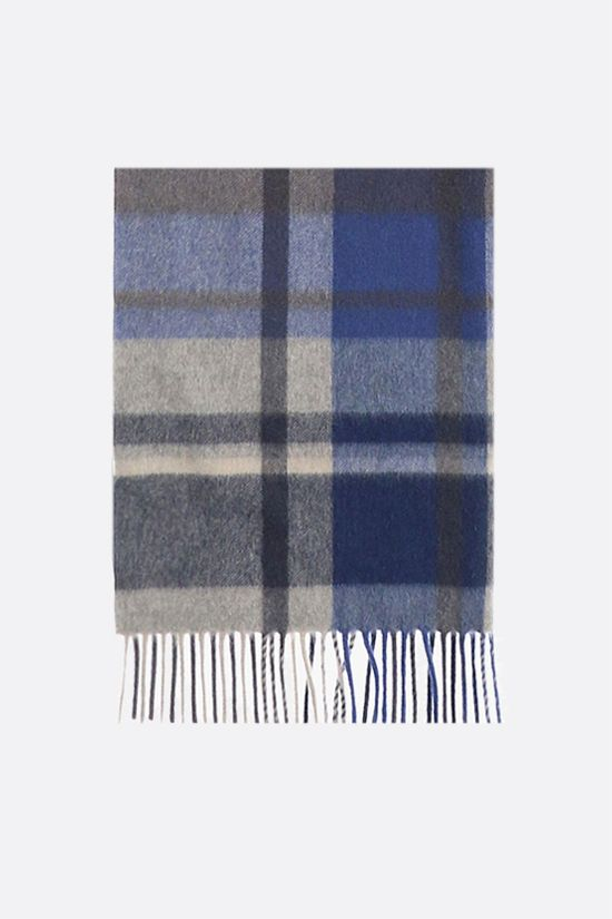 LORO PIANA: check cashmere scarf Color Multicolor_1