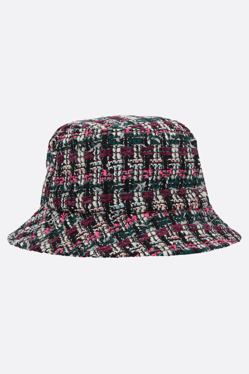 MAISON MICHEL: Jason tweed bucket hat_2