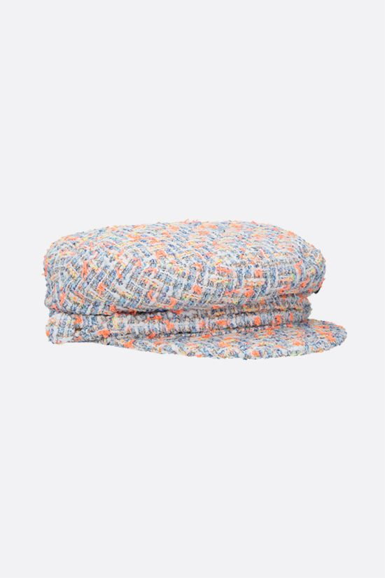 MAISON MICHEL: New Abby tweed sailor cap Color Multicolor_2