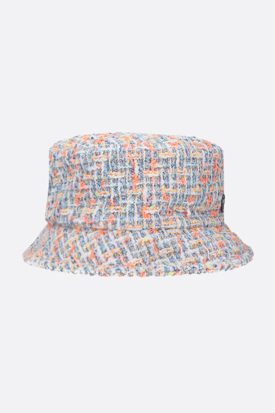 MAISON MICHEL: Axel tweed bucket hat Color Multicolor_2