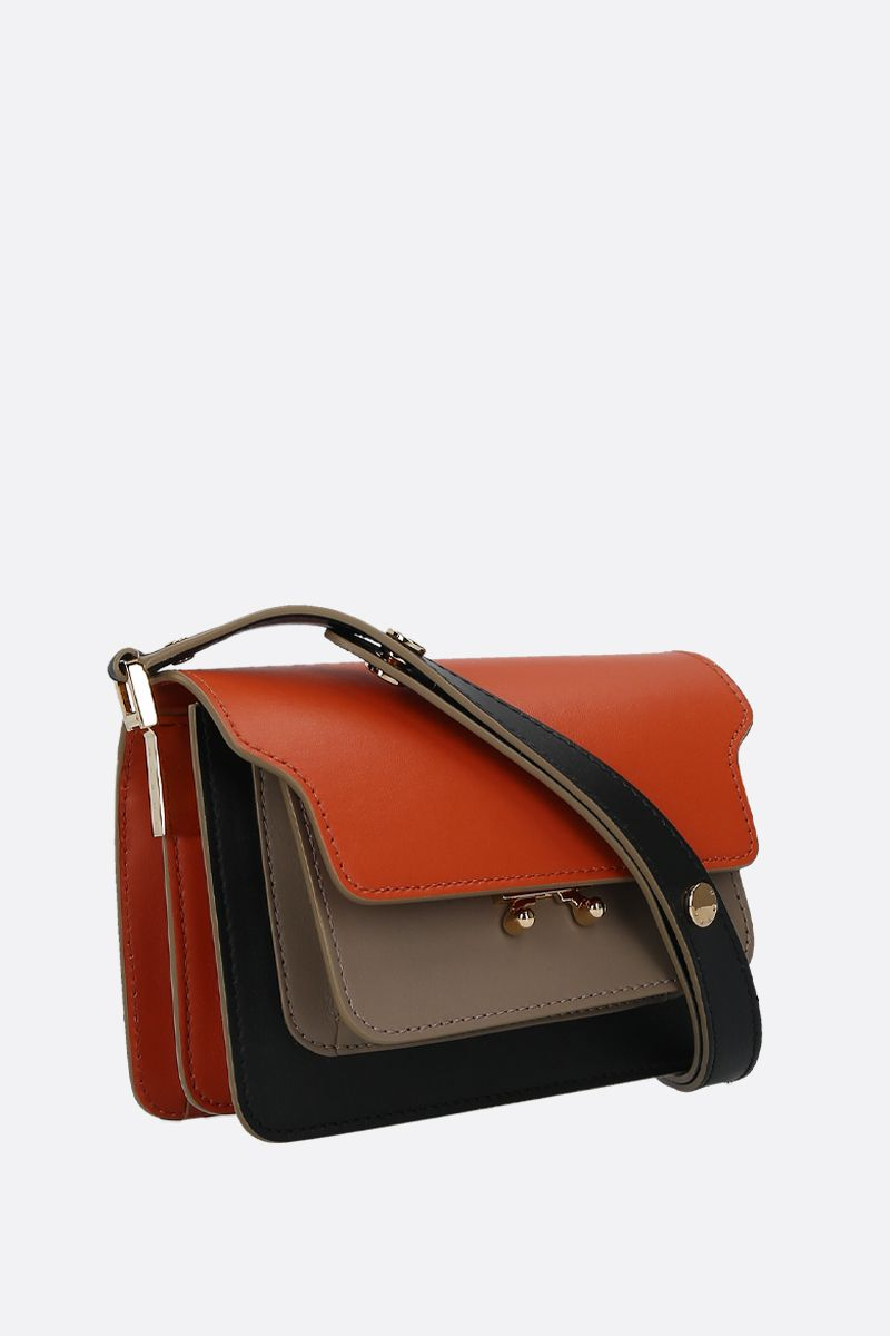 MARNI: Trunk mini smooth leather crossbody bag_2