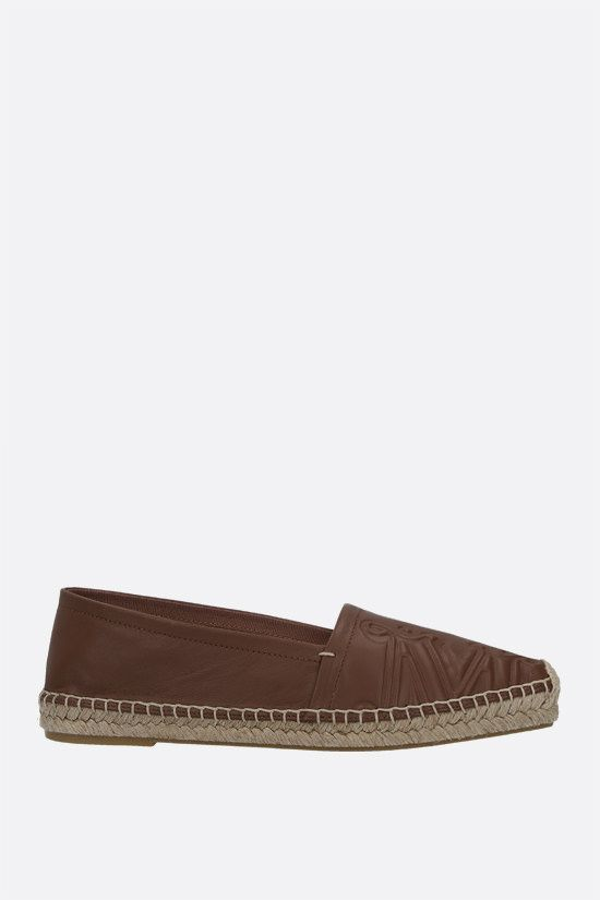 MAX MARA: Eli nappa espadrilles Color Brown_1