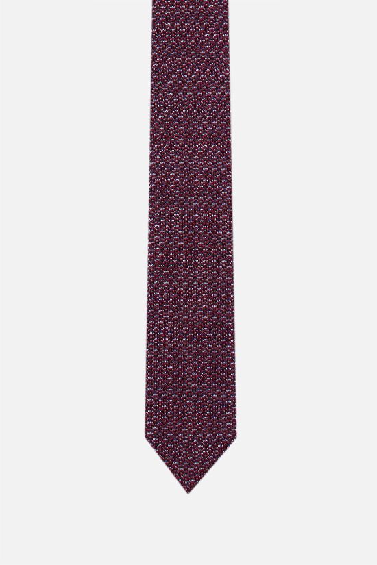 MISSONI: cotton silk knit tie Color Multicolor_1