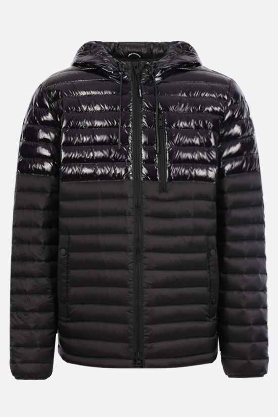 MOOSE KNUCKLES: Ropper 2 nylon down jacket Color Black_1