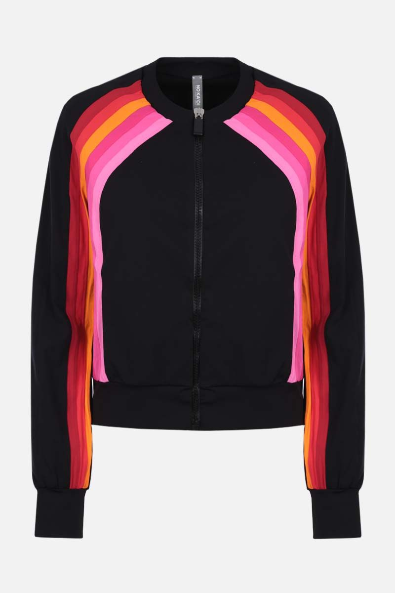 NO KA'OI: Sunlight lycra full-zip jacket Color Multicolor_1