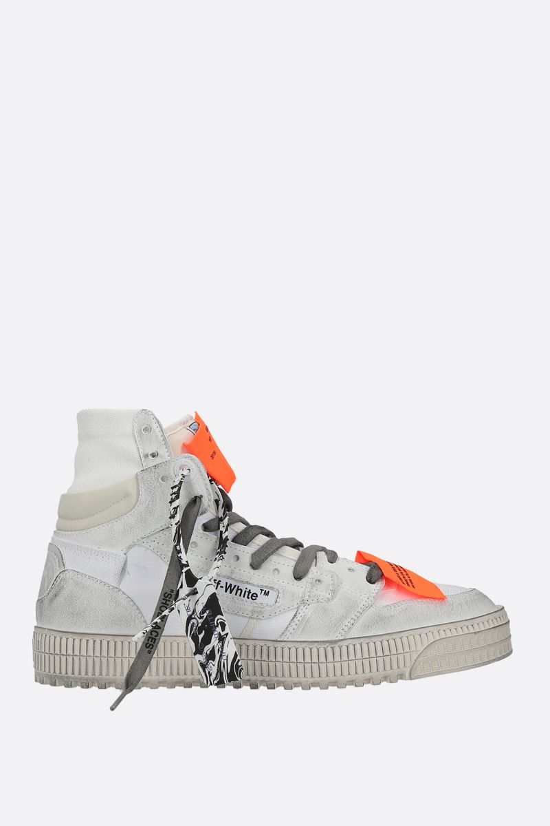 OFF WHITE: sneaker Off Court 3.0 in canvas e suede Colore Bianco_1