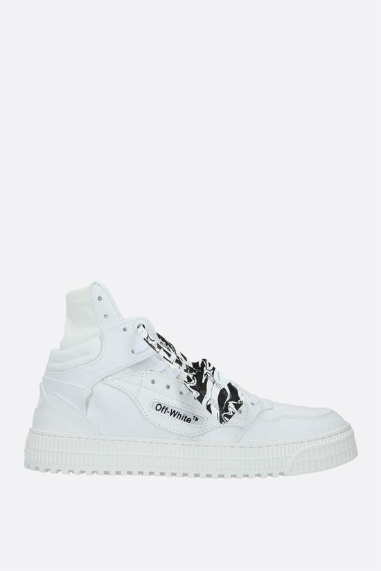 OFF WHITE: Off-Court 3.0 canvas high-top sneakers Color White_1