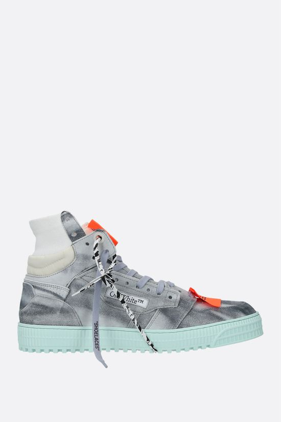 OFF WHITE: sneaker high-top Off Court in suede Colore Multicolore_1