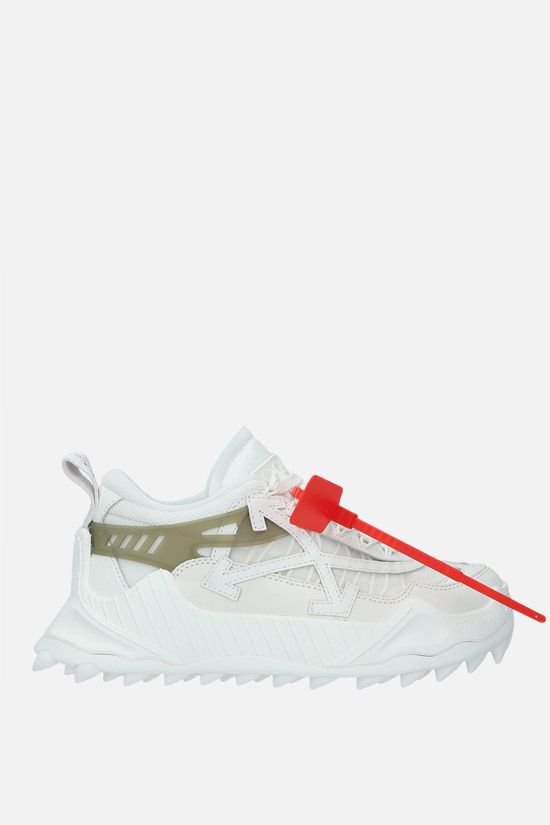 OFF WHITE: Odsy-1000 low-top sneakers in a mix of materials Color White_1
