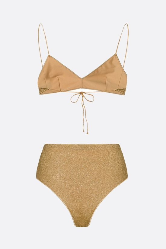 OSEREE: Lumière lurex bikini Color Gold_2