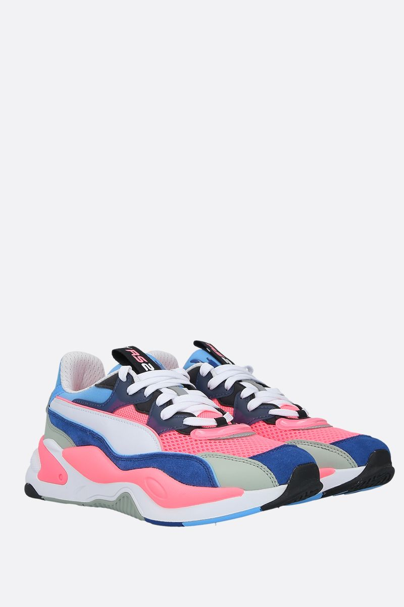 PUMA: sneaker RS-2K Internet Exploring in un mix di materiali Colore Multicolore_2