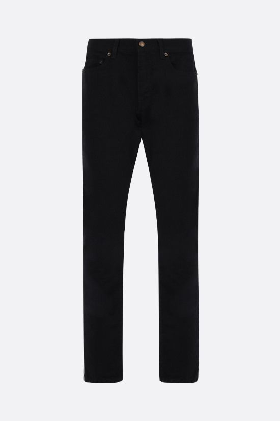 SAINT LAURENT: jeans slim-fit Colore Nero_1