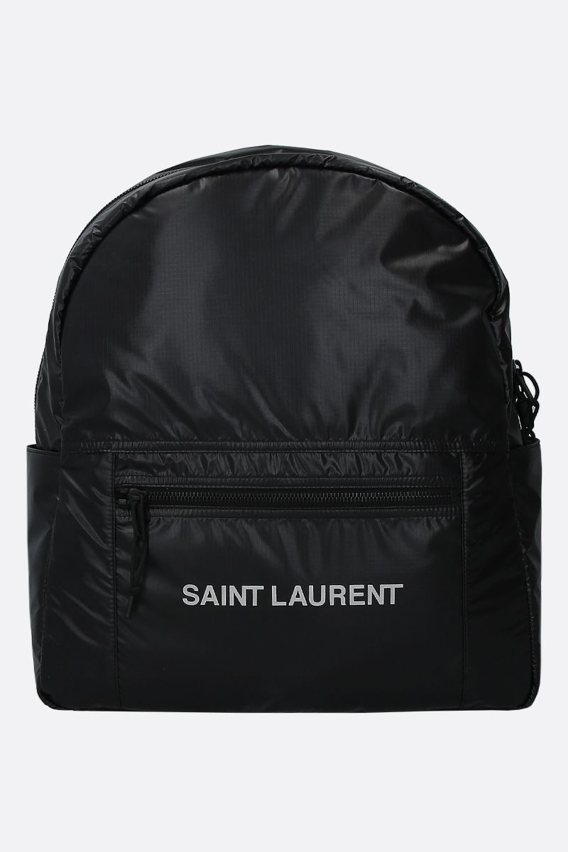 SAINT LAURENT: zaino Nuxx in nylon Colore Nero_1