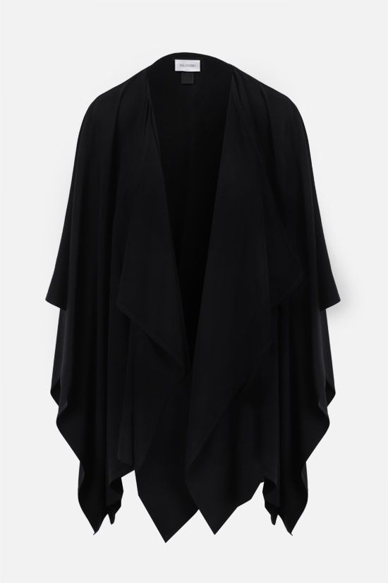 VALENTINO: cady cape Color Black_1