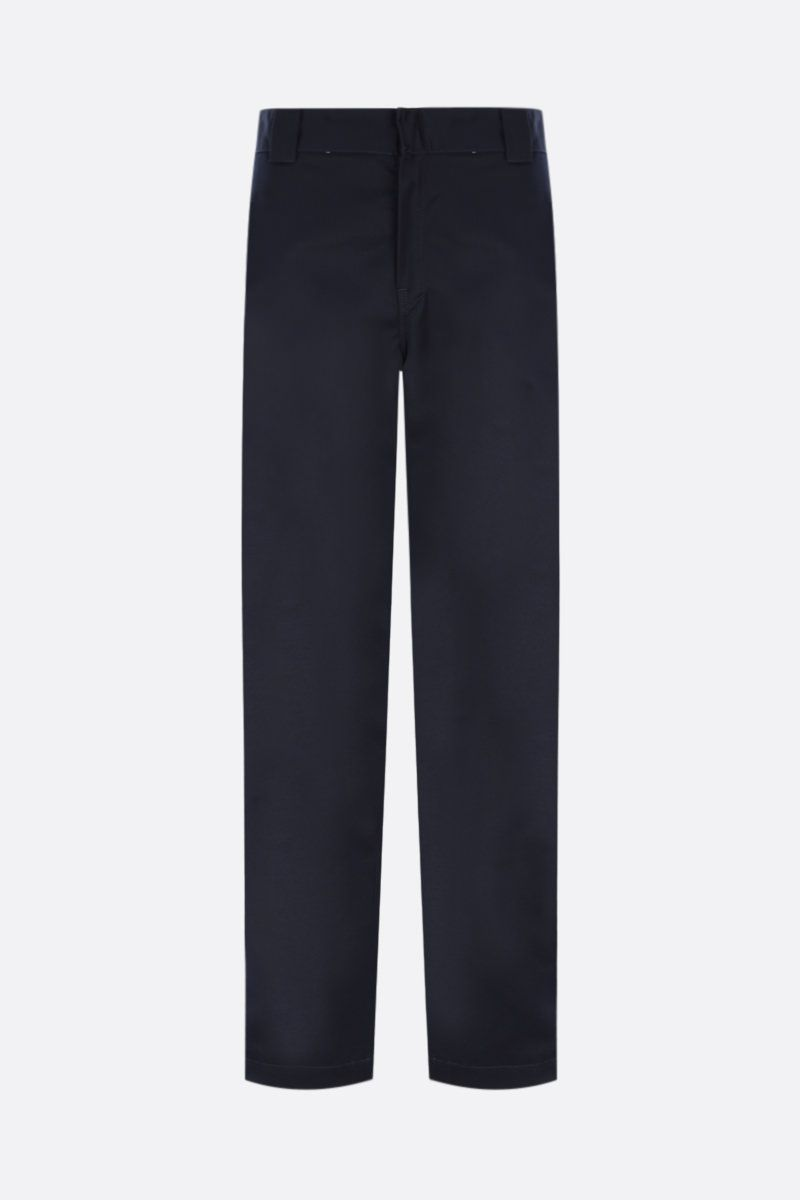 CARHARTT WIP: pantalone Master in twill Colore Blue_1