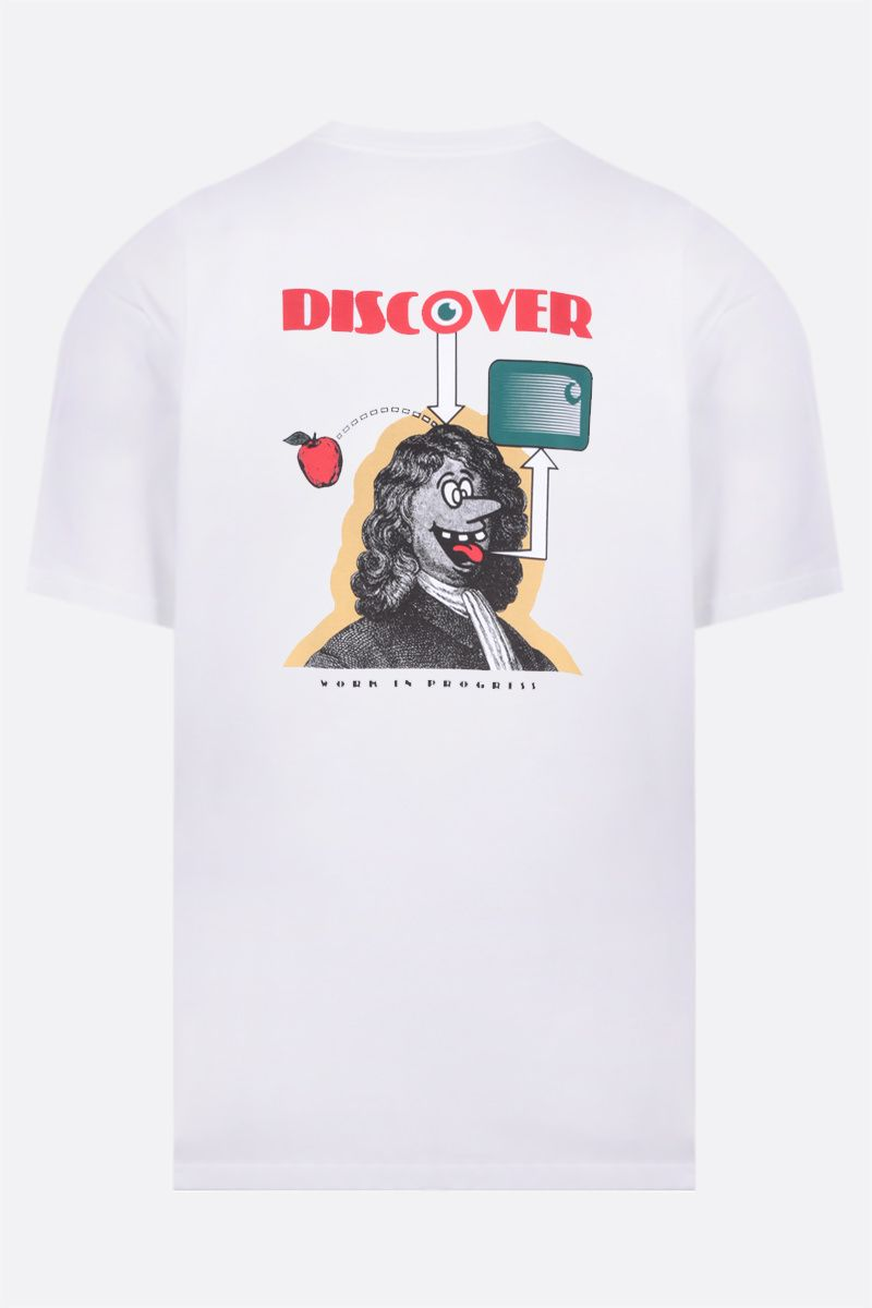 CARHARTT WIP: Discover organic cotton t-shirt Color White_2