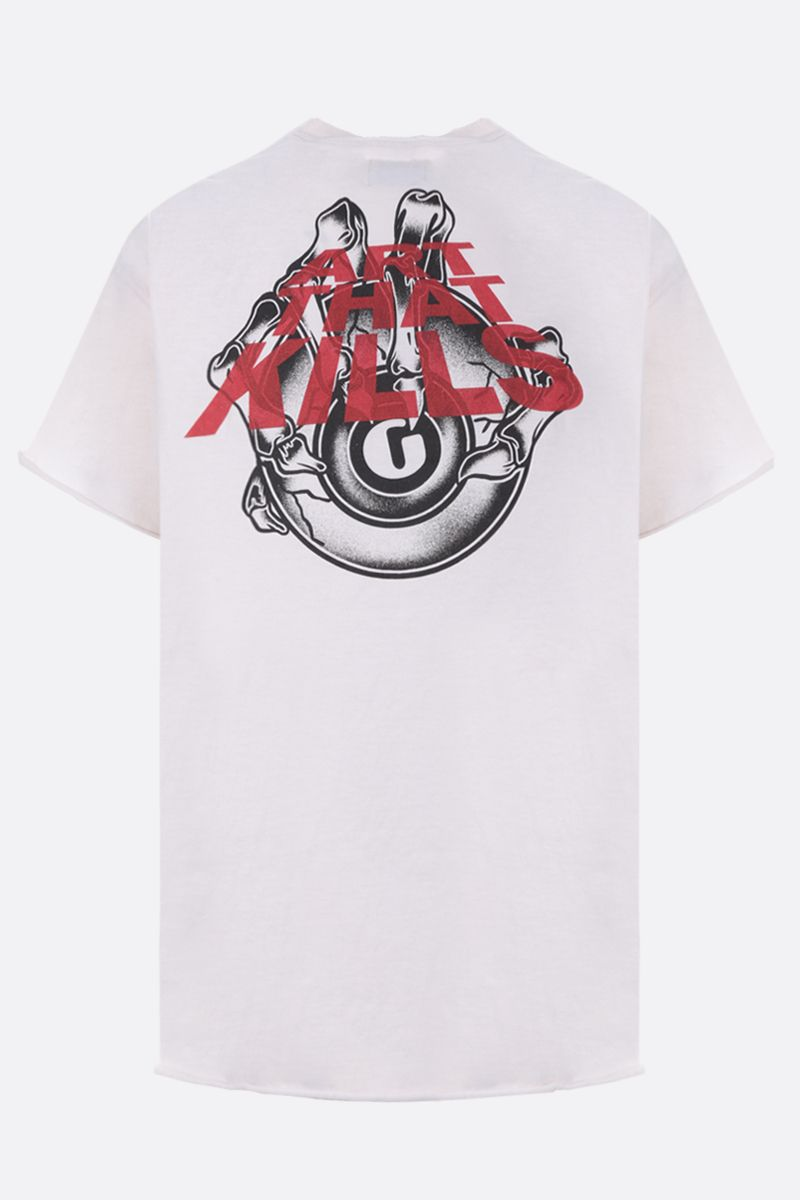 GALLERY DEPT: ATK Claw cotton t-shirt Color White_2