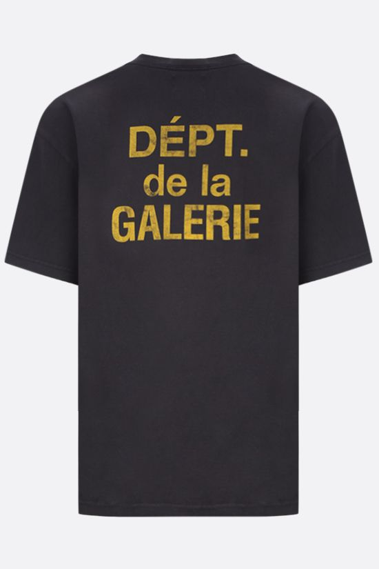 GALLERY DEPT: French Logo cotton t-shirt Color Black_2