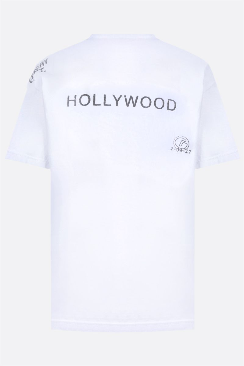 GALLERY DEPT: Society Of The Spectacle cotton t-shirt Color White_2