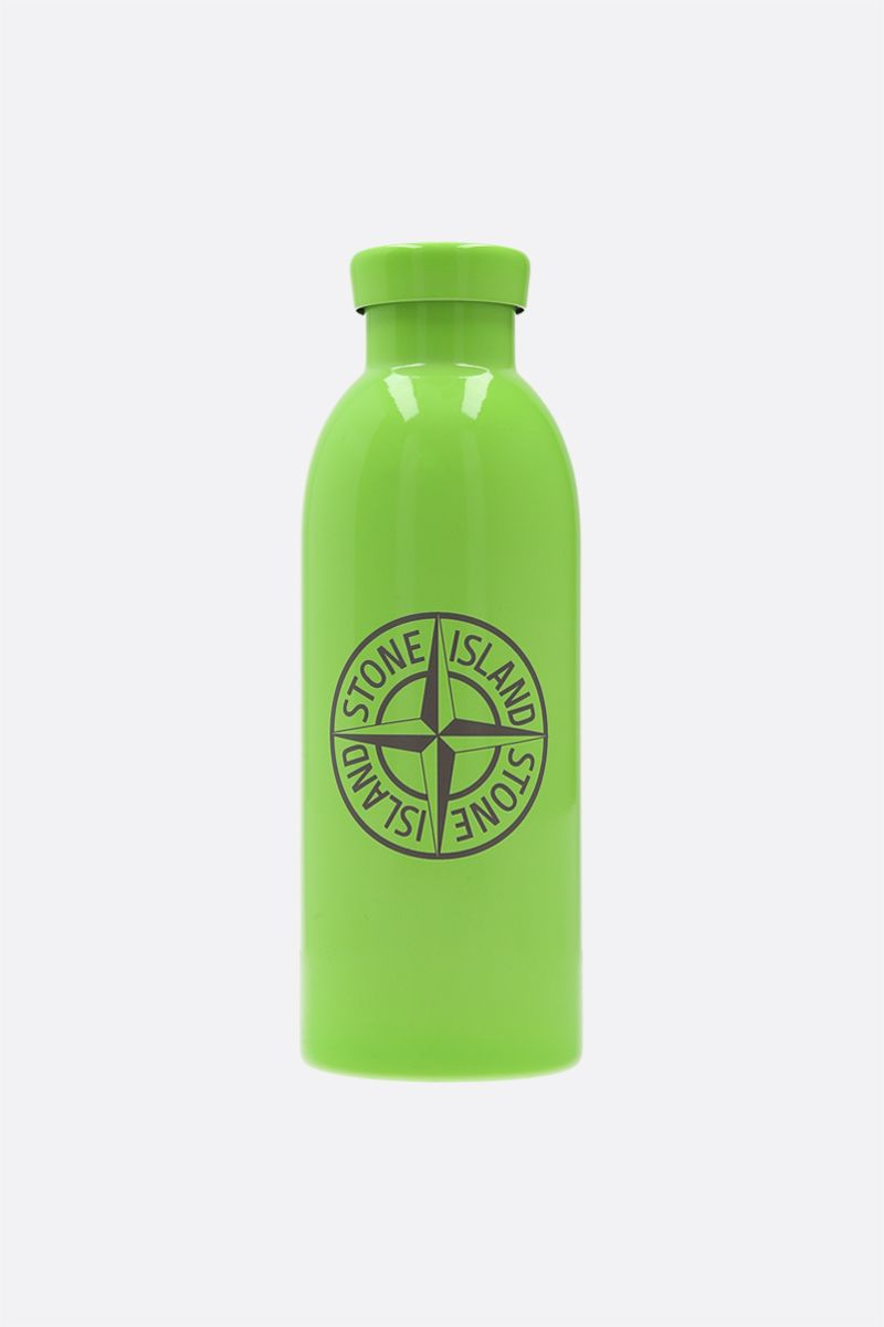 STONE ISLAND: 24 Bottles X Stone Island stainless steel water bottle Color Green_1