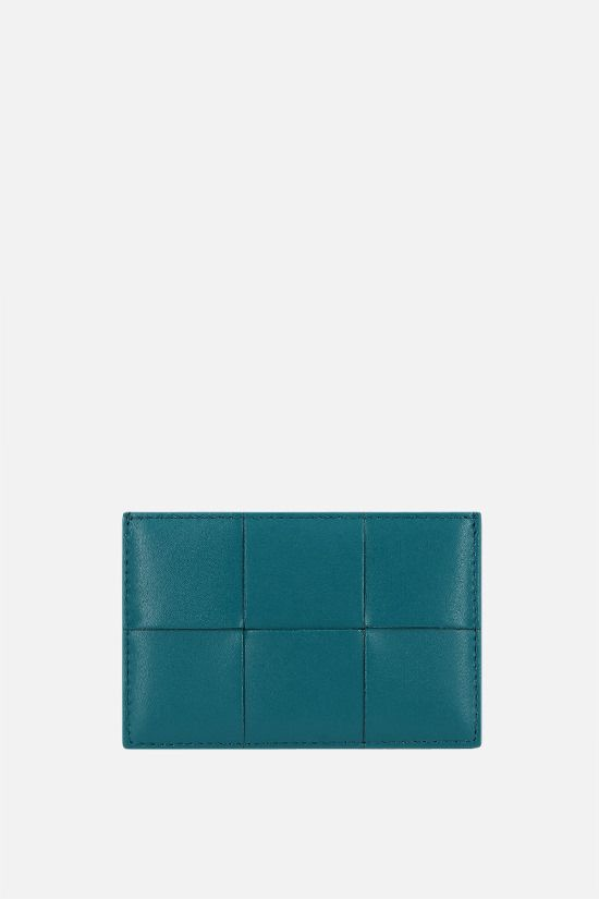 BOTTEGA VENETA: Maxi Intrecciato VN card case Color Multicolor_1