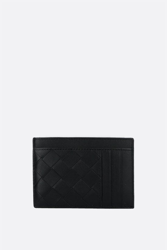 BOTTEGA VENETA: Intrecciato VN card case Color Black_1
