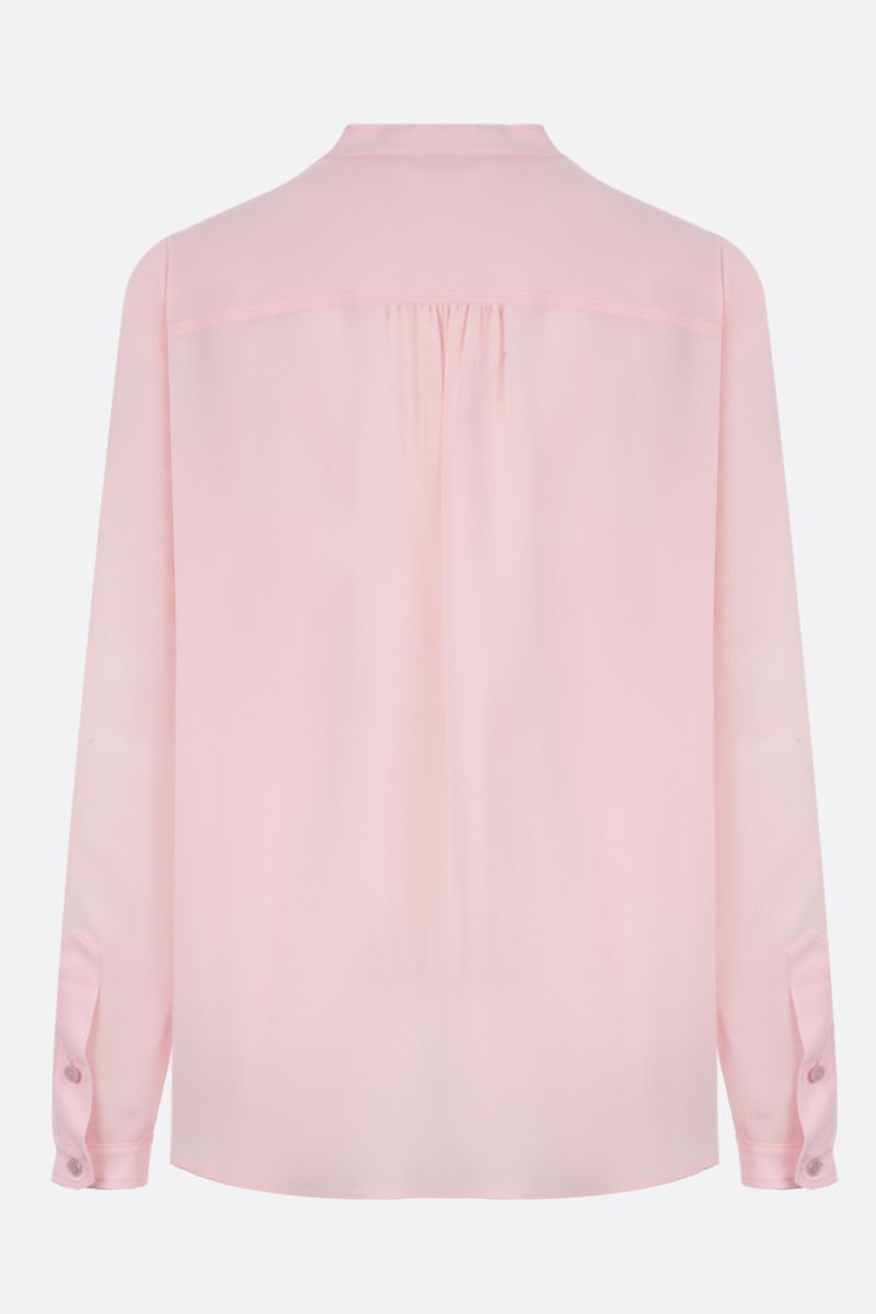 STELLA McCARTNEY: crepe de chine blouse Color Pink_2