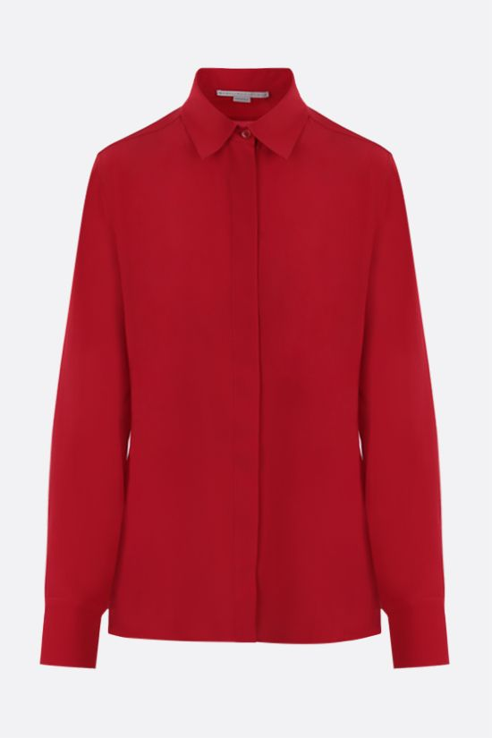 STELLA McCARTNEY: Willow silk shirt Color Red_1