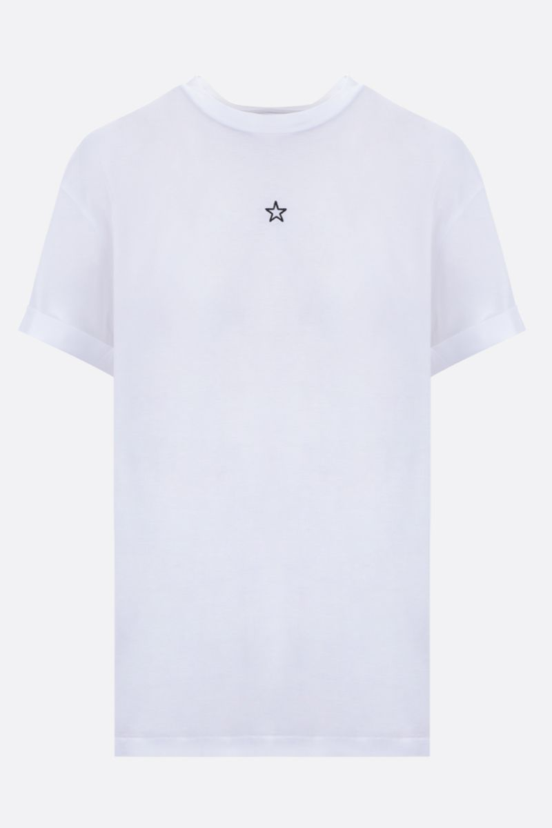STELLA McCARTNEY: Ministar cotton t-shirt Color White_1