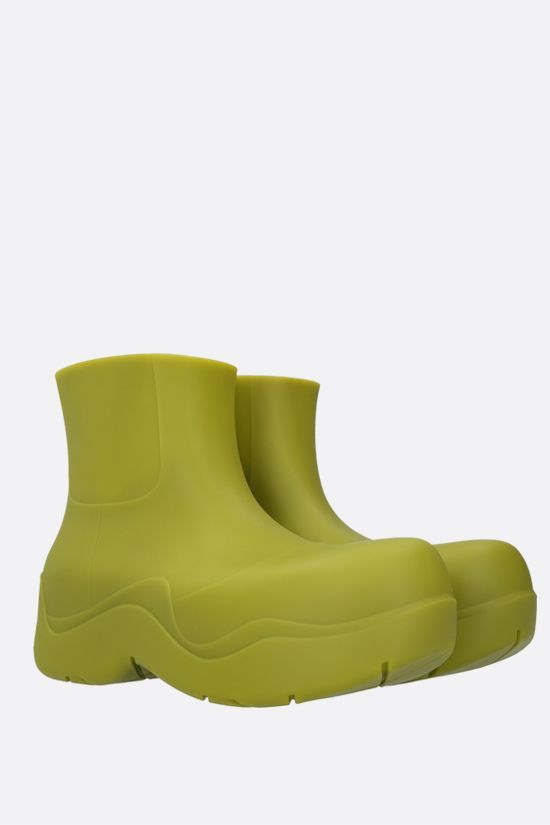 BOTTEGA VENETA: BV Puddle rubber rain boots Color Green_2