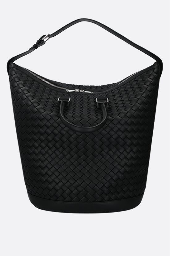 BOTTEGA VENETA: Intrecciato Hidrology handbag Color Black_2