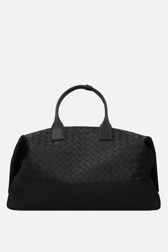 BOTTEGA VENETA: Intrecciato VN travel bag Color Black_1