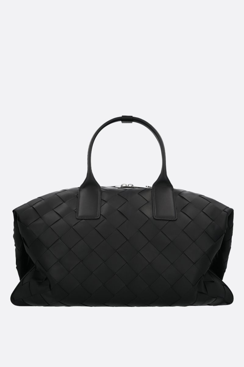 BOTTEGA VENETA: Intrecciato VN duffle bag Color Black_1