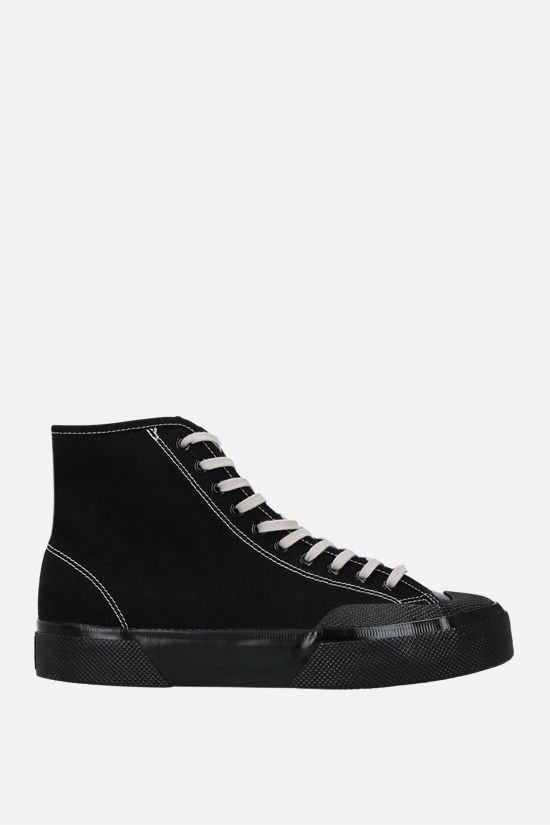 SUPERGA X ARTIFACT: sneaker high-top Artifact by Superga in canvas Colore Nero_1