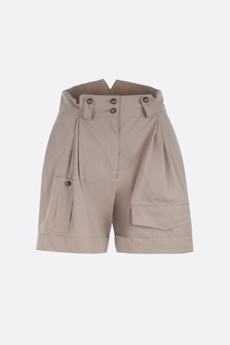 DOLCE & GABBANA: cotton cargo shorts Color Neutral_1