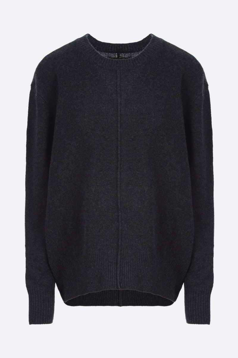 ISABEL MARANT: Dave cashmere blend pullover Color Black_1