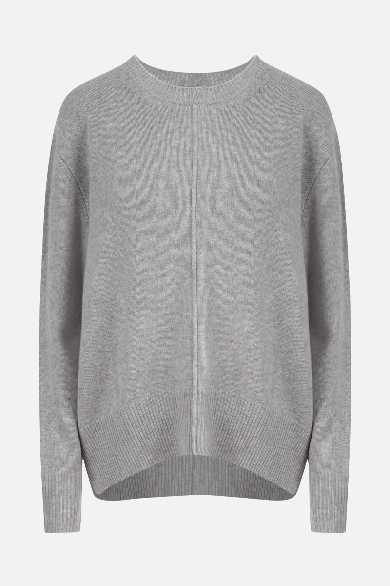 ISABEL MARANT: Dave cashmere blend pullover Color Grey_1