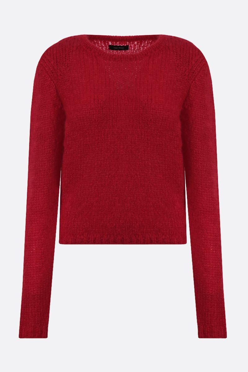 ISABEL MARANT: Erin mohair blend pullover Color Red_1