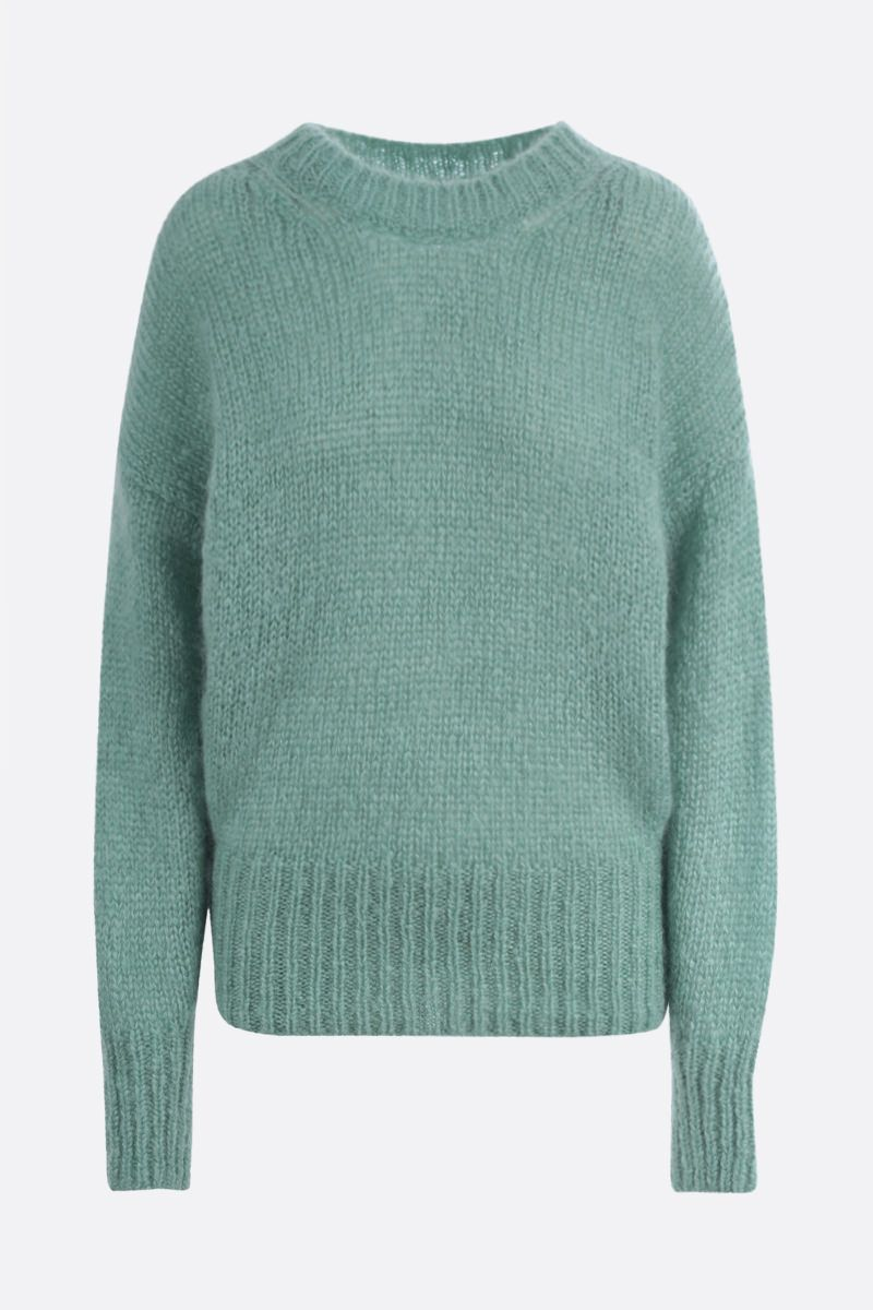 ISABEL MARANT: Estelle mohair blend pullover Color Green_1