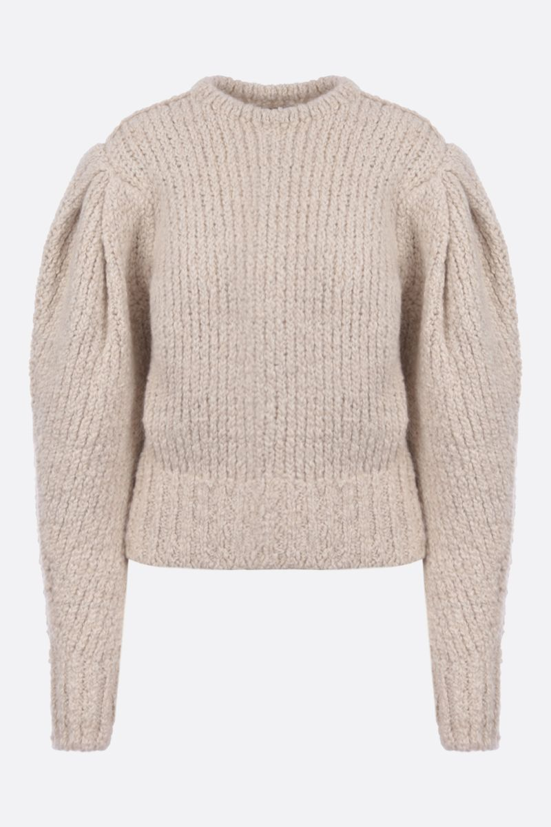 ISABEL MARANT: Enora wool alpaca blend pullover Color Neutral_1