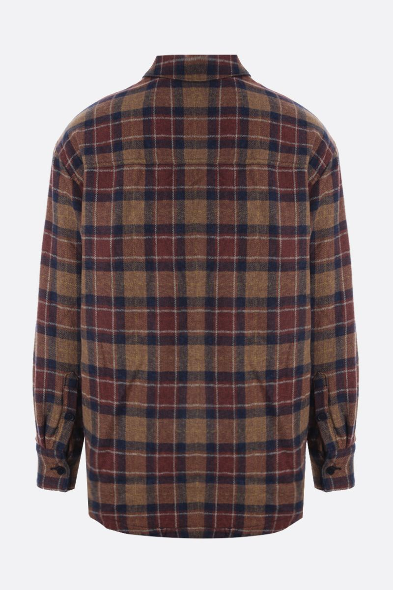 LEVI'S MADE & CRAFTED: check cotton padded overshirt Color Multicolor_2